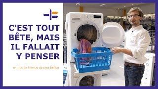 Superposer le sèche-linge et le lave-linge - Trucs et Astuces de Thomas