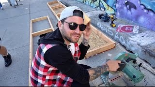 how to build a ledge on melrose avenue
