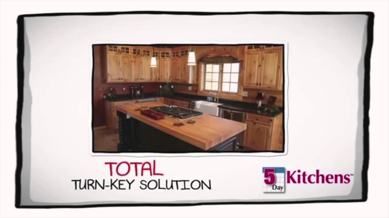 5 day kitchens franchise opportunity video youtube
