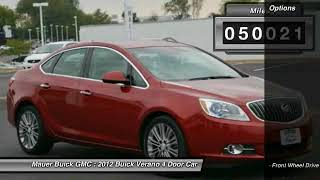 2012 Buick Verano Used St Paul, Inver Grove Heights, Roseville, Minneapolis, MN P0134