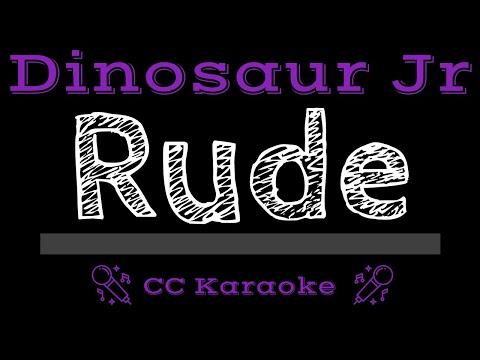 Dinosaur Jr   Rude CC Karaoke Instrumental