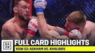 FULL CARD HIGHLIGHTS | KSW 52: Askham vs. Khalidov