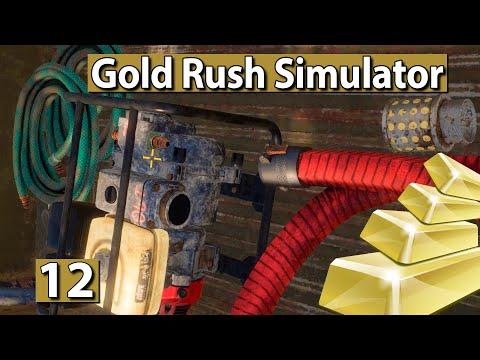 GOLDGRÄBER SIMULATOR   TIER II Aufbau, Anschluss, Anfangen! ► #12 Gold Rush Gameplay deutsch