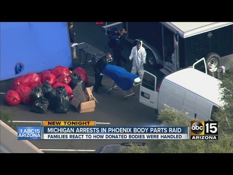 New details released in Phoenix body parts business