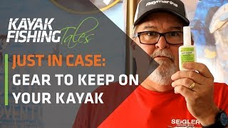 Gear You Should Always Carry on Your Fishing Kayak | Just In Case