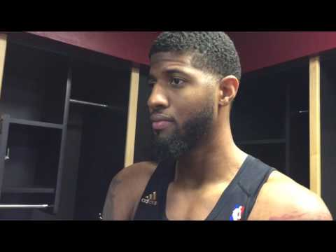 Paul George on the challenge of facing LeBron James and the Cavs