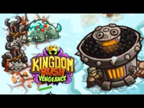 LES TERRES RUDES ET GELÉES DU NORD (Kingdom Rush Vengeance #5)
