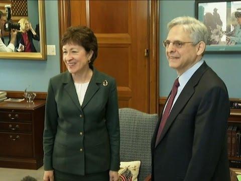 Collins Urges GOP Senators to Talk with Garland