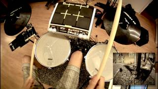 Testing Diy E-drums And Krigg Kick Trigger, Ableton Samples