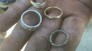 Gold, Platinum, Silver, Diamonds & Old Coins Found