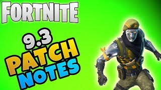 NEW Storm Shield Endurance Mode | Fortnite Update 9.3 Patch Notes | Fortnite Save The World News