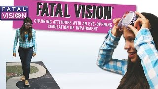 The Fatal Vision® Impairment Goggles - Drunk Driving Awareness