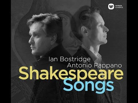 Shakespeare Songs: Ian Bostridge & Antonio Pappano record Finzi 'Who is Sylvia'?