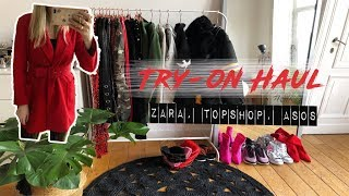 TRY-ON HAUL // MISSGUIDED, ASOS, TOPSHOP, ZARA,..