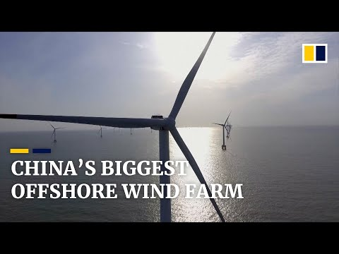 China's largest offshore wind farm ready to start operations