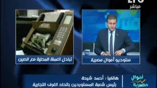 بالفيديو.. رئيس شعبة المستوردين: استبدال الدولار باليوان الصيني ظالم لمصر