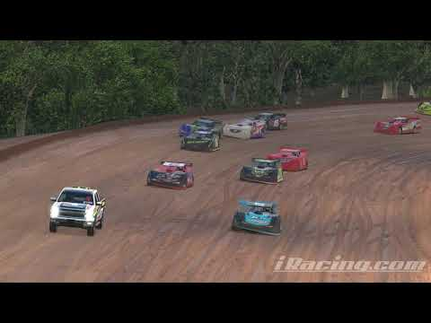 iRacing: fun racing had a few mess ups but came back to finish 3rd @Lernerville speedway