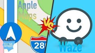 App vs App - Waze vs Apple Maps - Think Different Podcast