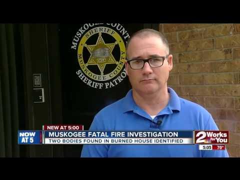 Couple identified in Muskogee County fire