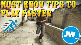 10 MUST KNOW TIPS TO PLAY FASTER - CS:GO Tutorials Jamiew_