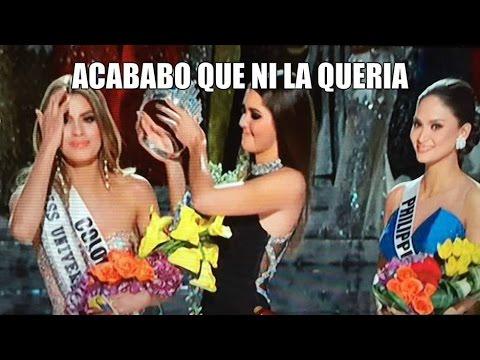 #MissUniverse2015  Los MEMES Error Miss Universo 2015