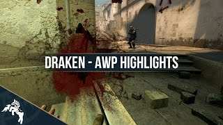 draken - AWP Highlights | CS:GO | By akidos