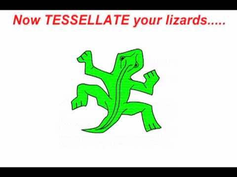 Anatomy Of An Escher Lizard