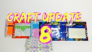 Rainbow glitter card pocket? (Craft update #8)