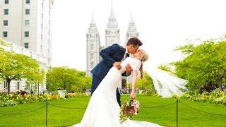 Salt Lake Temple Wedding // Taylor + Olivia