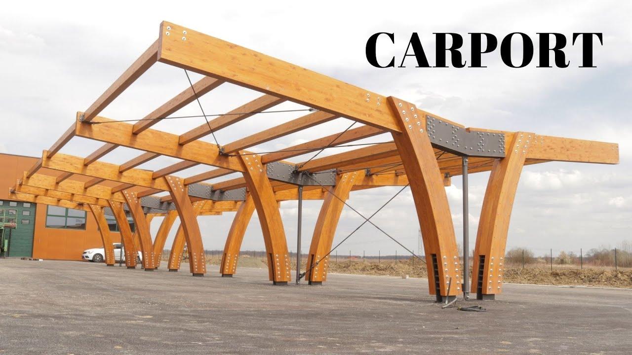 Large Carport Assembly