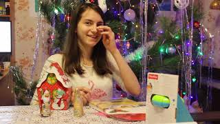 VLOG Рождественская ночь. Настя и Катя поссорились. Подарки под ёлкой. Играем в игры