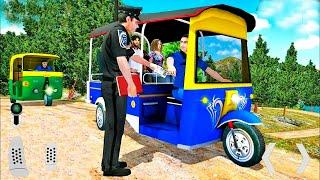 Modern Tuk Tuk Rickshaw Driving - City Mountain Auto Driver - Android GamePlay 2022 # 6 screenshot 3