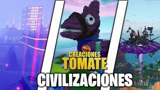 Civilizaciones - Fortnite Creaciones Tomate - Episodio 25