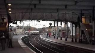 Ayr Railway Station unit action 10/04/10