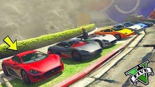 GTA 5 ONLINE 🐷 RADUNO DI AUTO SEGRETE !!! 🐷 CATTURA 🐷N*45🐷 GTA 5 ITA 🐷 DAJE !!!