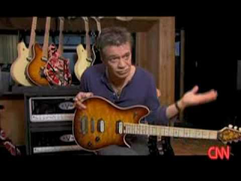 Eddie Van Halen's new Wolfgang guitar