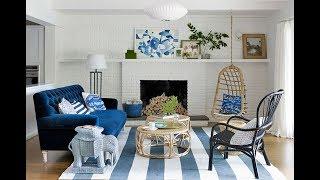 Top 40 Blue Home Design Ideas | Room Decorating Decor DIY Bedroom Bathroom Living Room Tour 2018