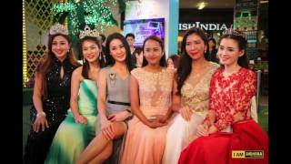 Photo shoot by the 22 Finalist of 2010 Miss Chinese Cosmos Pageant South East Asia on 29 July 2010