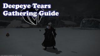 FFXIV 3.07 Heavensward Deepeye Tears Gathering Guide
