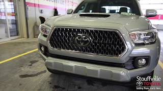 The ALL NEW 2018 Toyota Tacoma - With Upgrade Package