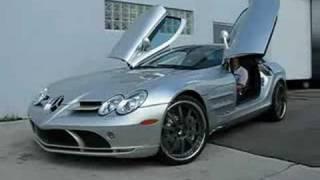 Brabus tunes Mercedes SLR McLaren Roadster Videos
