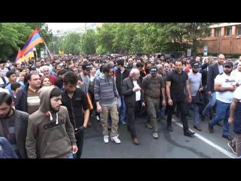 Opposition leader Pashinyan