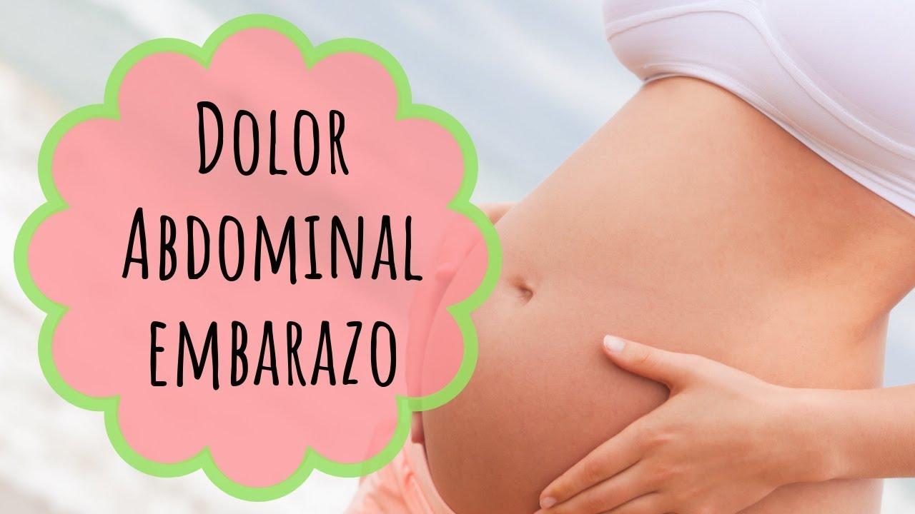 dolor abdominal a las 15 semanas de embarazo