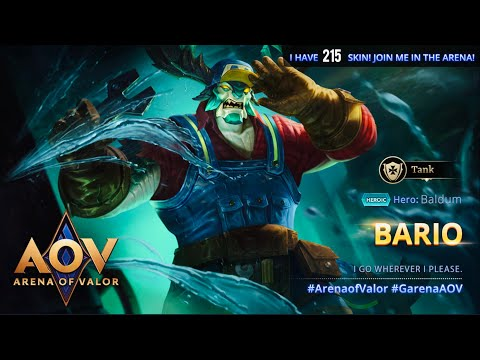 AOV - Arena Of Valor - Baldum gameplay