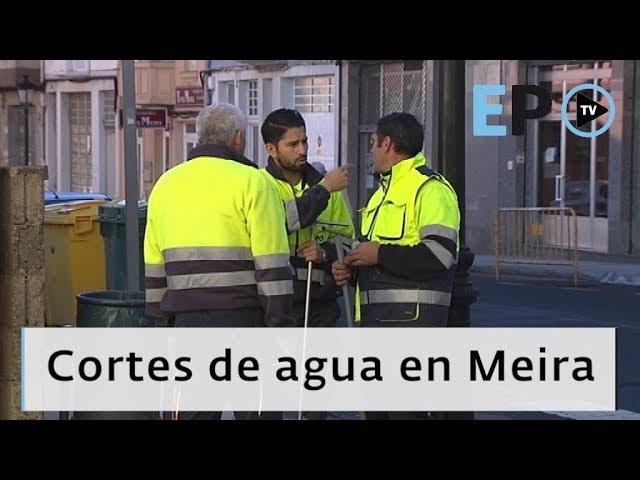 El Progreso TV ► Los cortes de agua en Meira preocupan a los hosteleros
