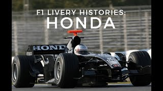 F1 Livery Histories: Honda