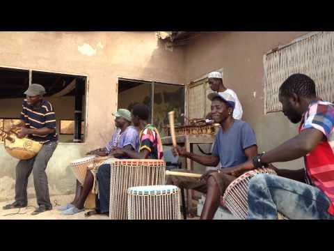 Traditional Gambian Band