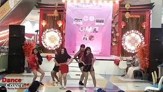 Red Five Dance Cover Red Velvet at A K-Pop Gathering Event with Nostalgia Depok Town Square 170219