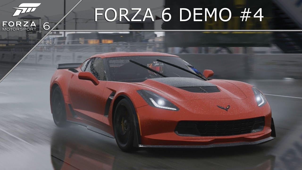 forza motorsport 6 demo 4 corvette c7 ford gt youtube. Black Bedroom Furniture Sets. Home Design Ideas