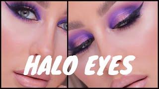 Purple Halo Glam- CHRISSPY